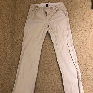 Khaki Gap dress pants